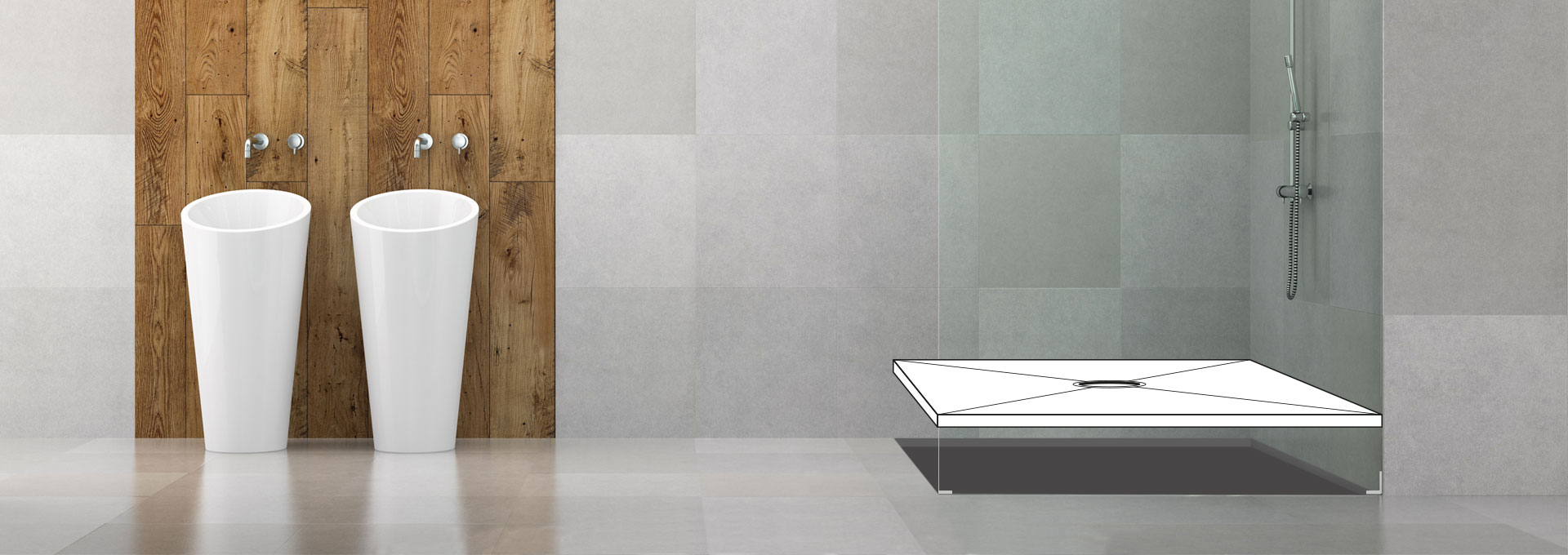 look shower seamless free tileable bath a with day base innovate mothers barrier create design