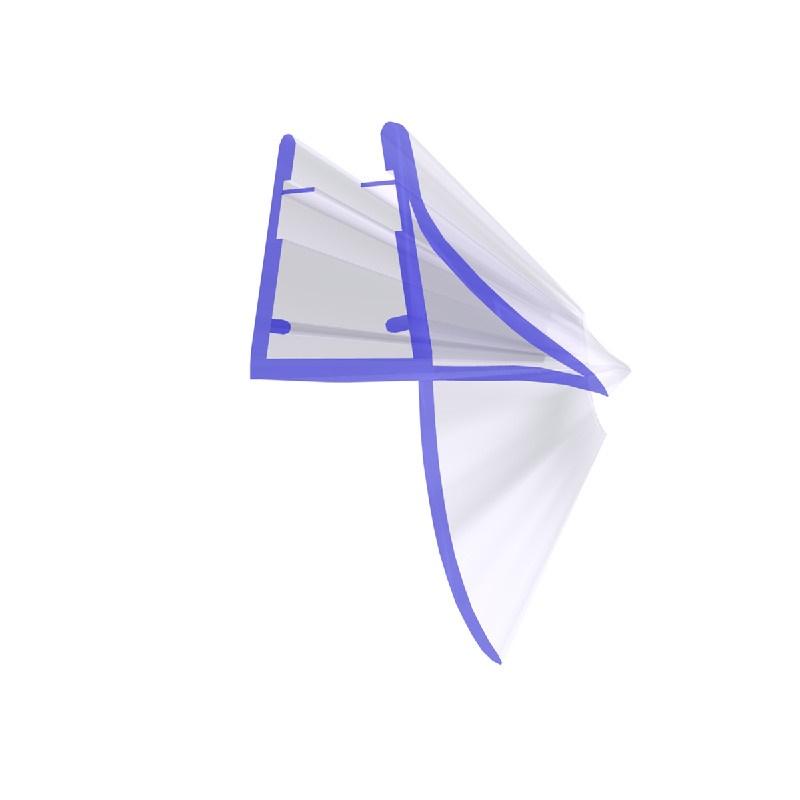 STEIGNER Duschdichtung Glasst/ärke 3,5// 4// 5 mm UK01 Gerade PVC Ersatzdichtung f/ür Dusche 190cm