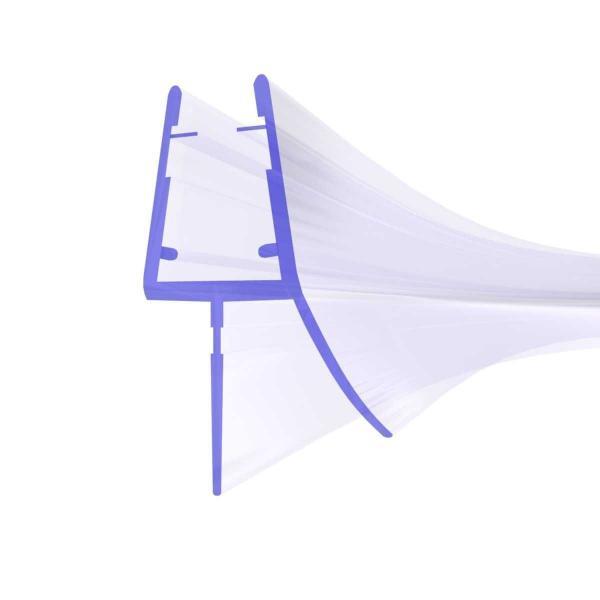 Steigner Duschdichtung vorgebogen für Rundduschen UK03 für Glasstärken von 6-8mm