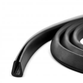 Gummidichtung Kantenschutzprofil S-583 11x7mm