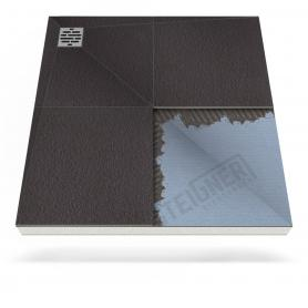 Duschboard Mineral PLUS dezentraler Eckablauf