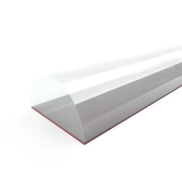 Steigner Schwallschutzleiste für Duschen Acrylstab SDD03 5 mm