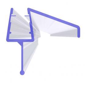 Duschdichtung UK21 für Glasstärken von 3,5-7mm
