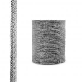 Dichtschnur aus Glasfasern SKD02 dunkelgrau 14mm
