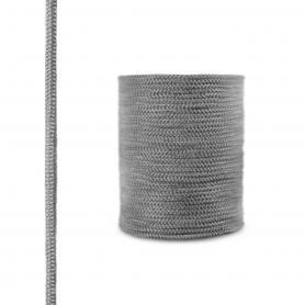 Dichtschnur aus Glasfasern SKD02 dunkelgrau 6mm
