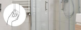 Duschdichtung in drei Schritten austauschen