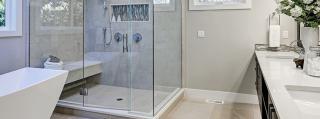 Sie haben permanent Wasser auf dem Boden in Ihrem Bad? Die STEIGNER Duschdichtungen schaffen Abhilfe!